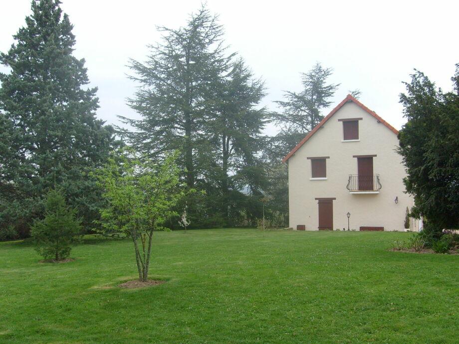 Außenaufnahme Dans l'Allier en Auvergne Quatre