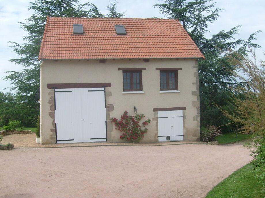 Außenaufnahme Dans l'Allier en Auvergne Six