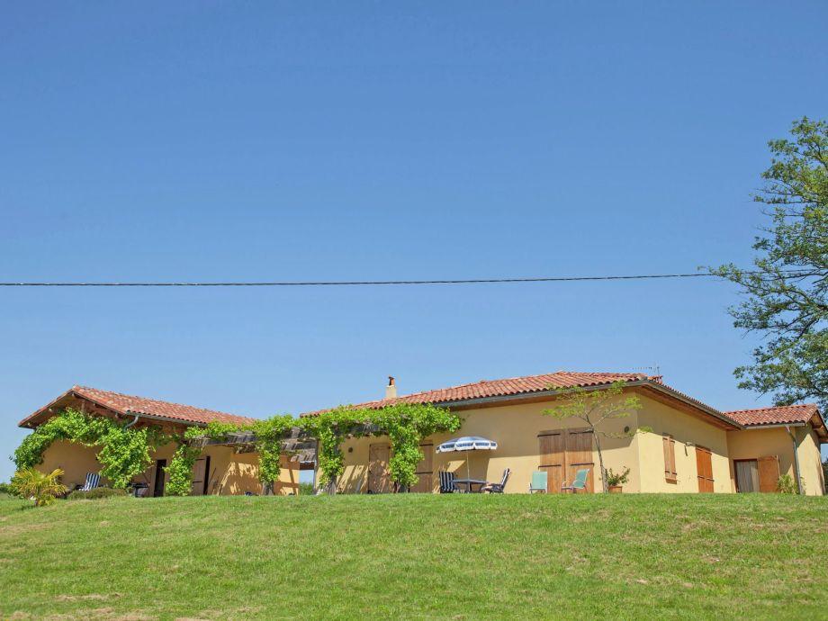 Außenaufnahme Villa Cardeille