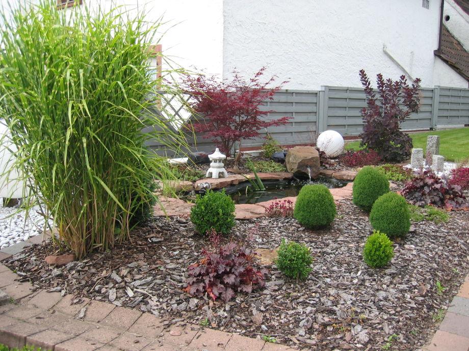 ferienhaus scheibel - Offener Vorgarten