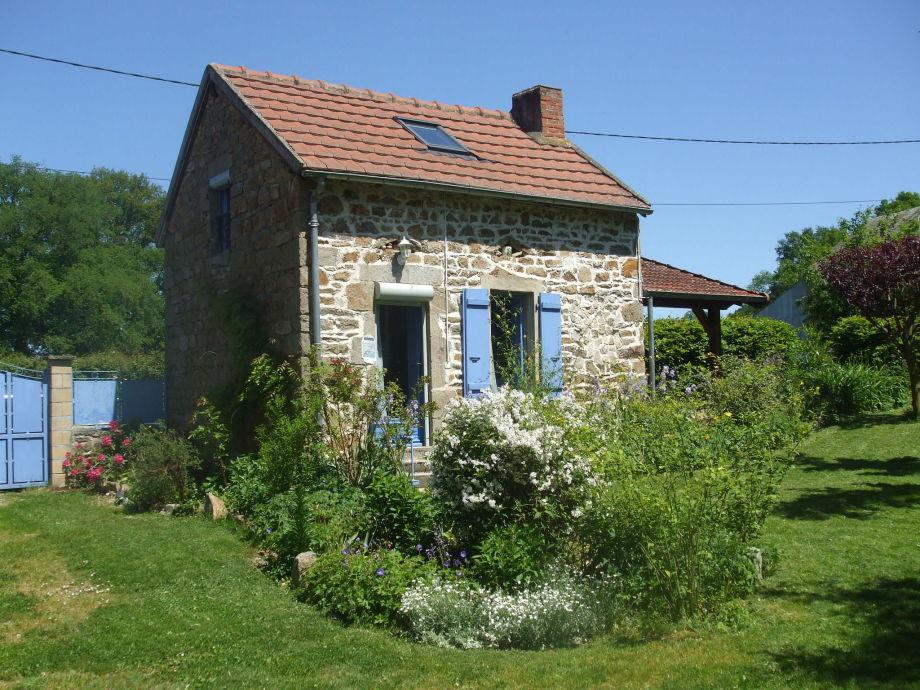Außenaufnahme Maison de vacances - Le Chat Blanc - kleine gite