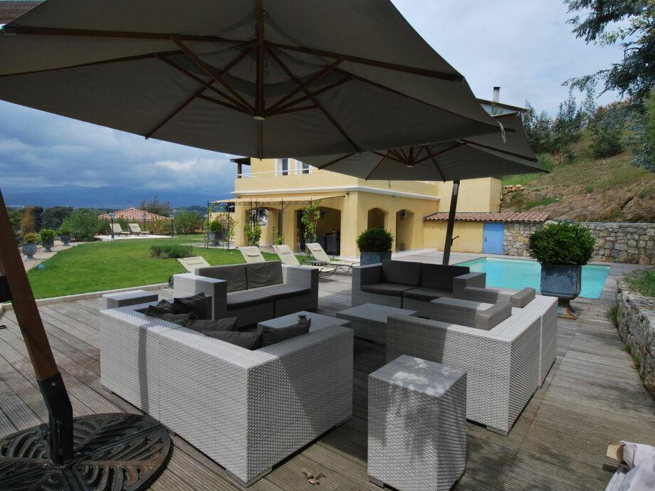 Außenaufnahme Villa Mimosa