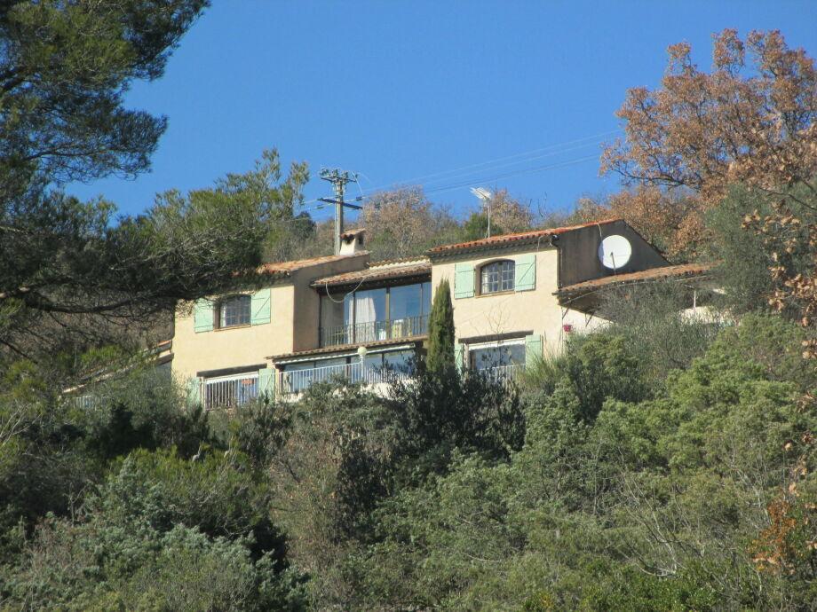 Außenaufnahme Villa Eveline