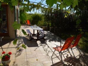 Ferienhaus Villa - Les Vans 8pers