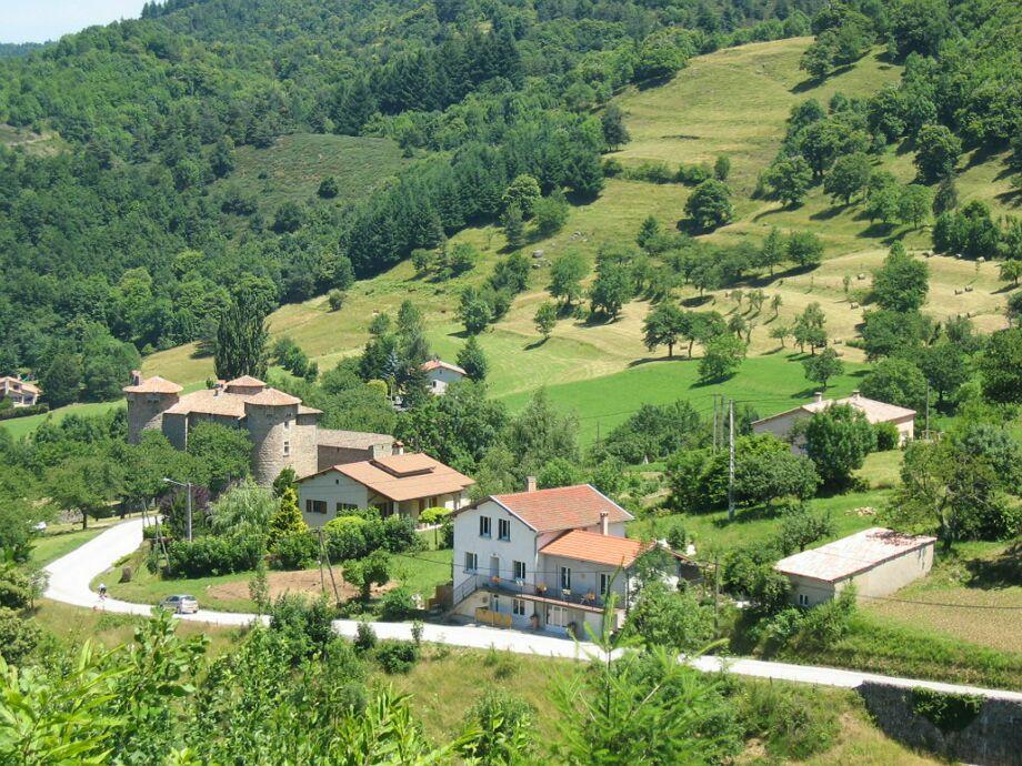 Außenaufnahme Gîte Ardèche