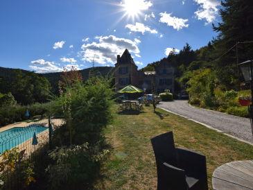 Ferienwohnung Bohort dans un château en Ardèche