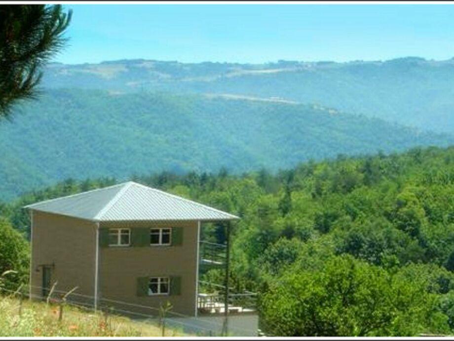 Außenaufnahme Landhuis Ardèche