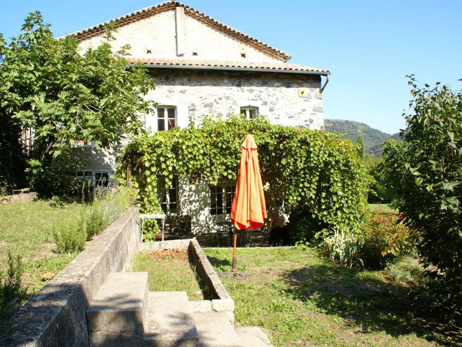 Außenaufnahme Maison de vacance - Labeaume
