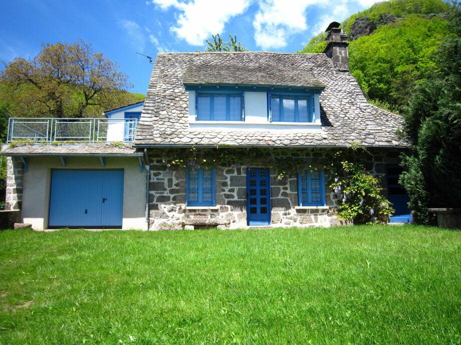 Außenaufnahme La Maison Bleu