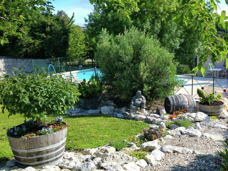 Ferienhaus Maison mitoyenne avec piscine