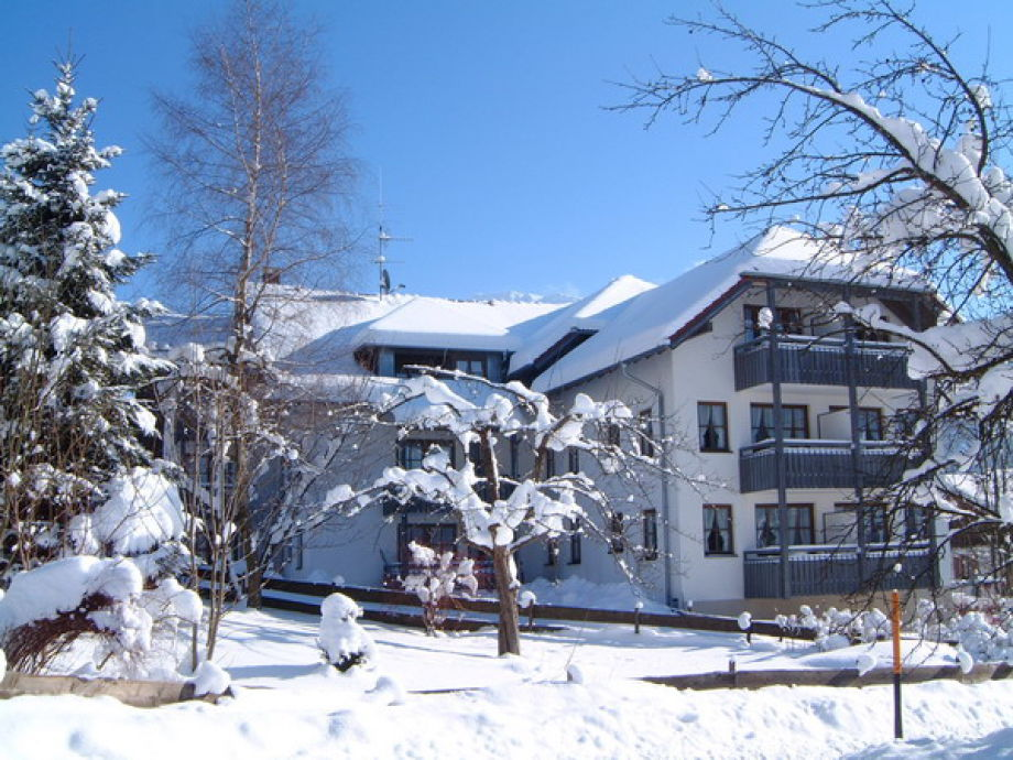 Allgäublick Residenz im Winter