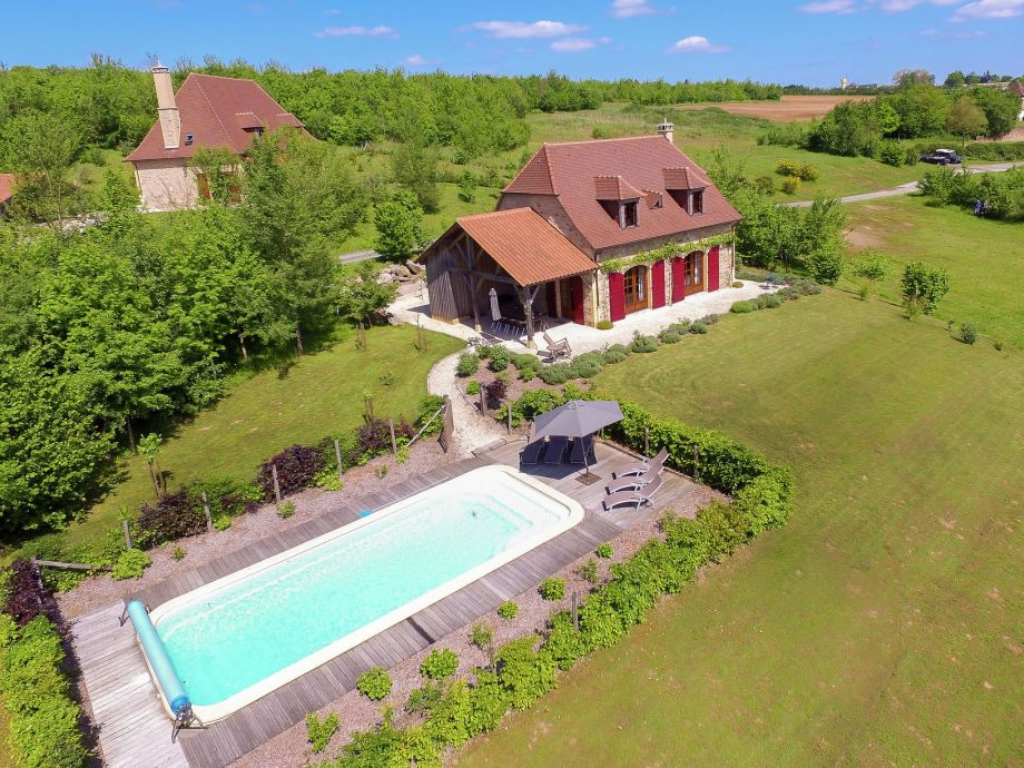 Außenaufnahme Villa Le Bolet