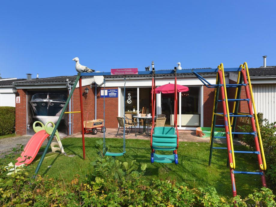 Ferienhaus mit eigenem Spielplatz