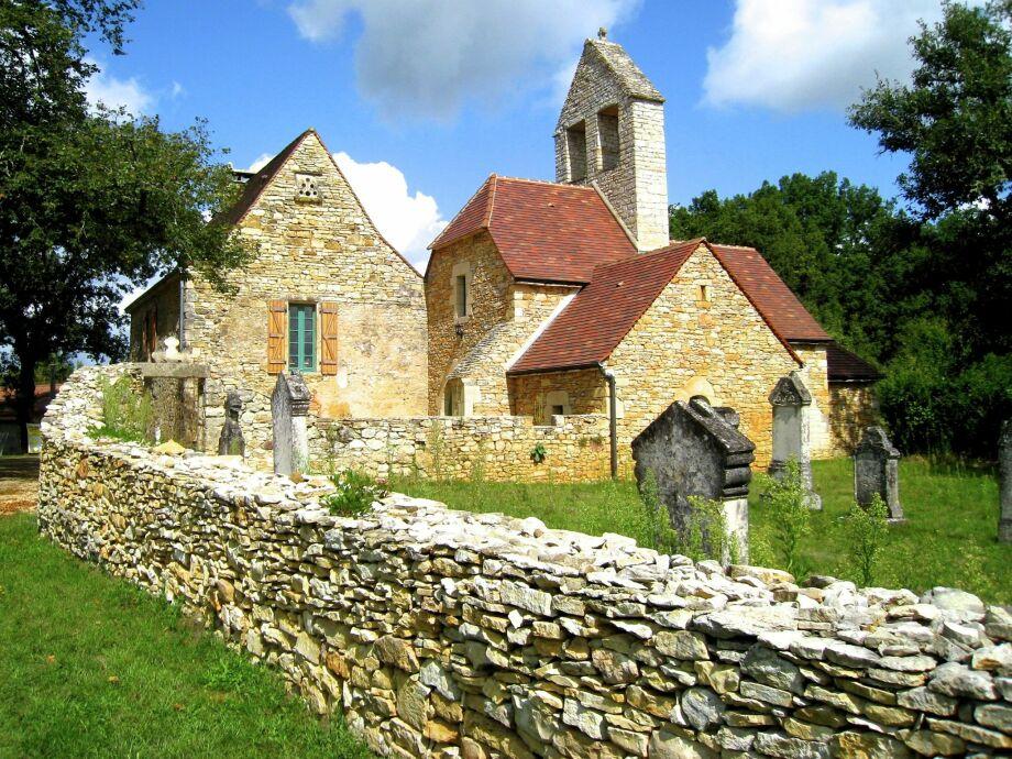 Außenaufnahme La Vieille Eglise