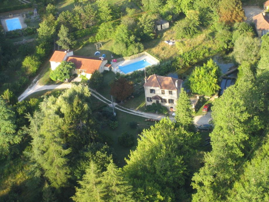 Außenaufnahme Maison de vacances - SAINT CYBRANET