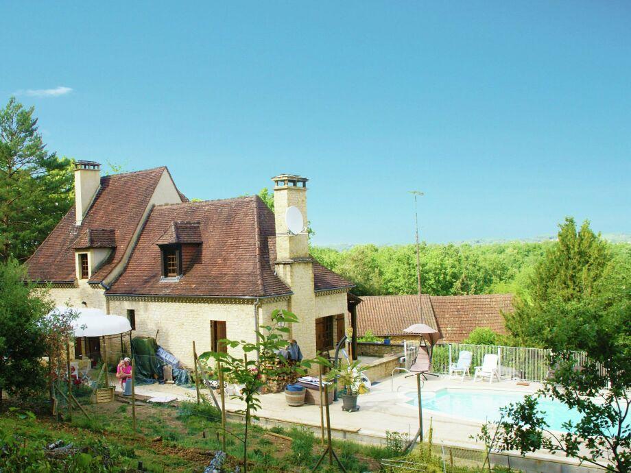 Außenaufnahme Maison de vacances - CALVIAC-EN-PÉRIGORD