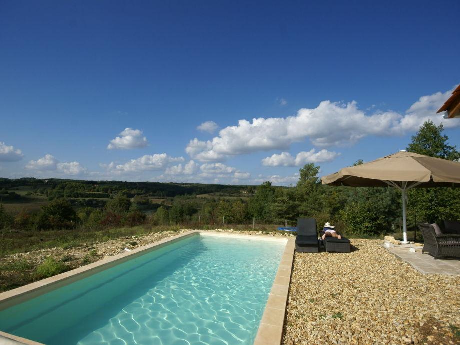 Außenaufnahme Villa Sainte Foy de Longas
