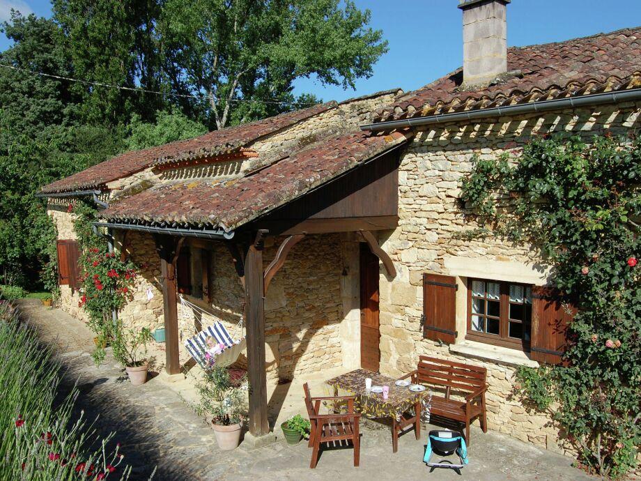 Außenaufnahme Maison de vacances - LOUBEJAC