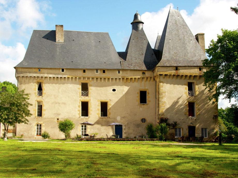 Außenaufnahme Le Grand Gite du Chateau