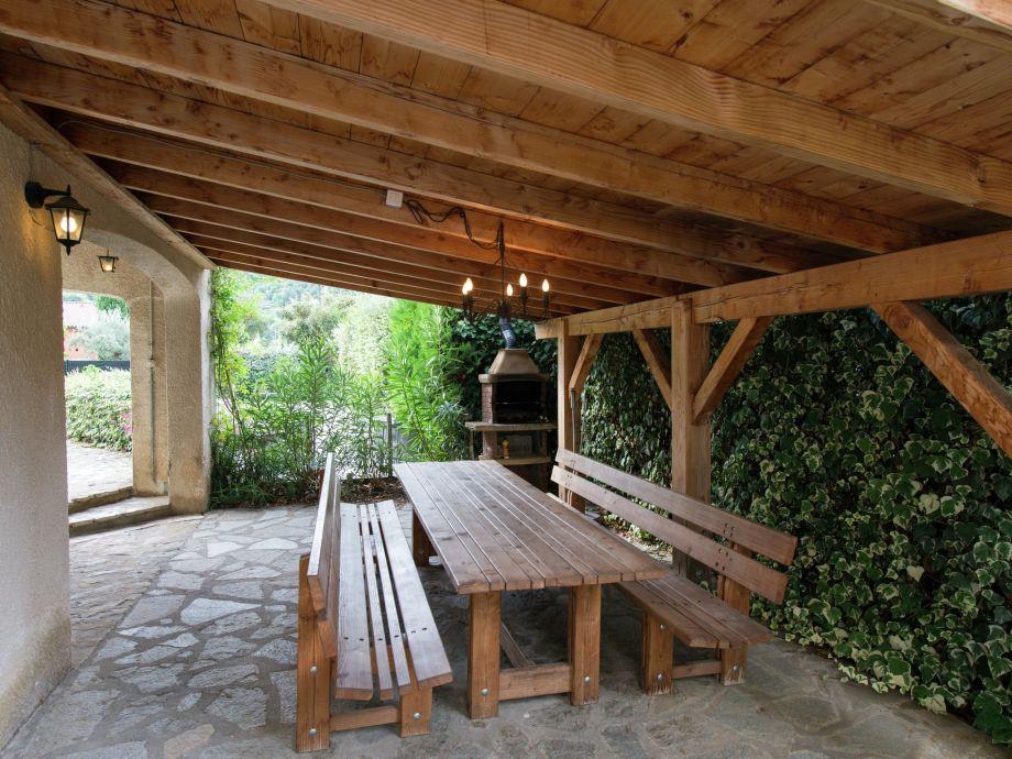 Außenaufnahme Villa Enniroc