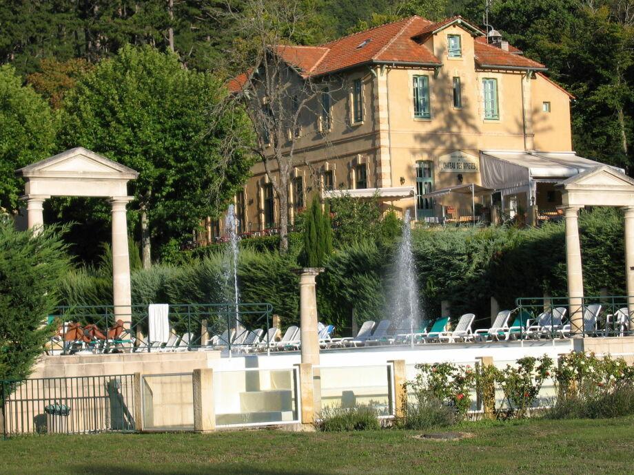 Außenaufnahme Au château près du Ventoux IV