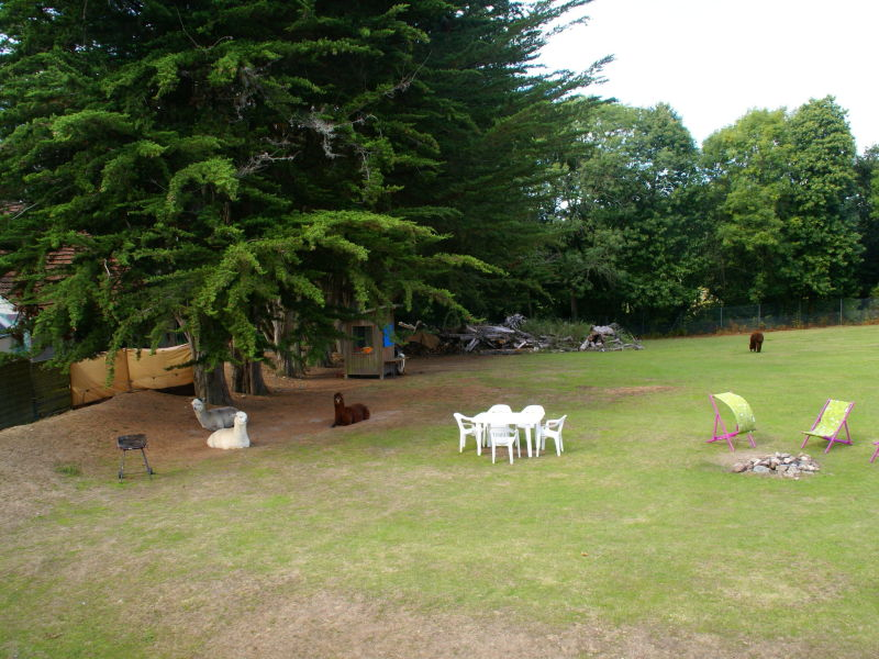 Ferienhaus Maison mitoyenne dans un parc animalier proche mer
