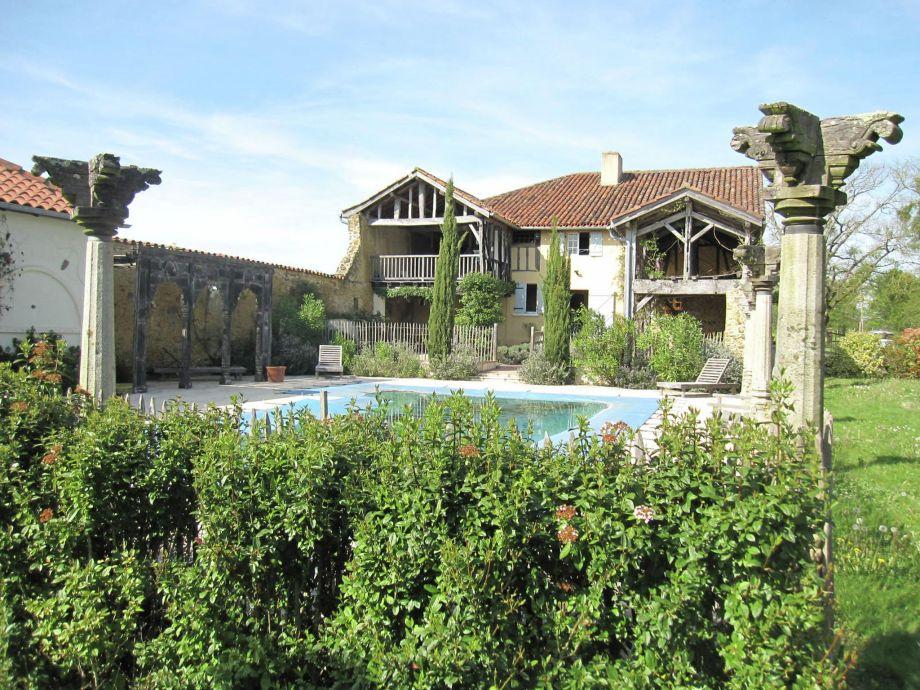 Außenaufnahme Villa Le Houga
