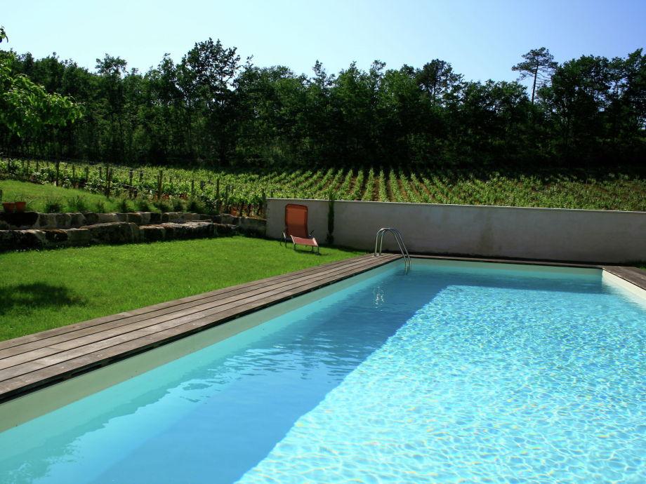 Außenaufnahme Gîte entouré de vignes