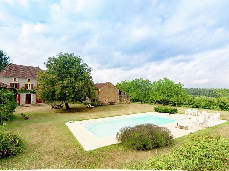 Ferienhaus Maison de vacances Montcléra Cournes 8 pers