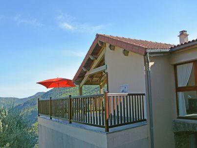 Villa Vue panoramique sur val du Chassezac