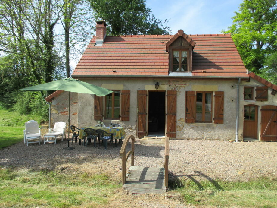 Außenaufnahme La maison du père Patin