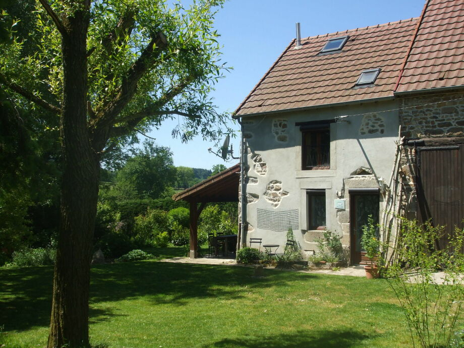 Außenaufnahme Maison de vacances - Le Chat Blanc - grote gite