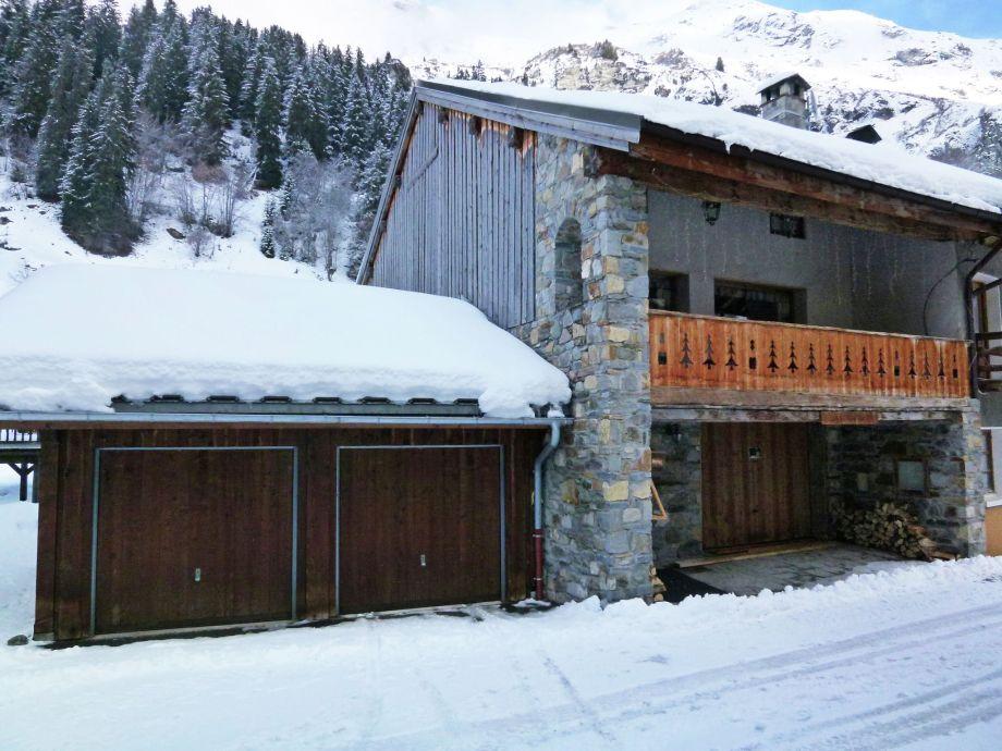 Außenaufnahme Chalet Vanoise