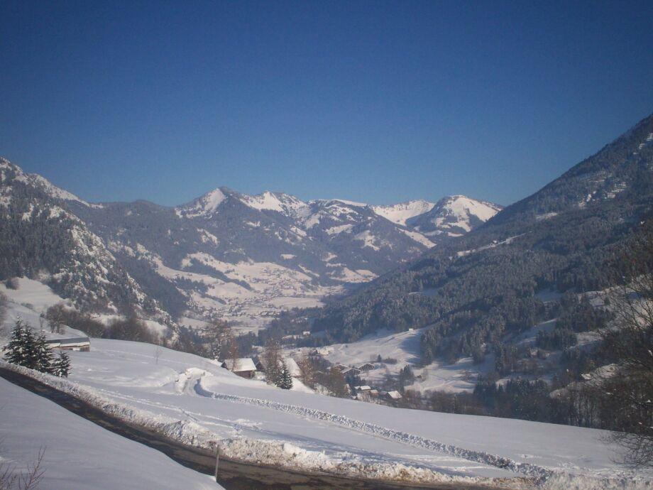 Außenaufnahme Chalet Le Mont