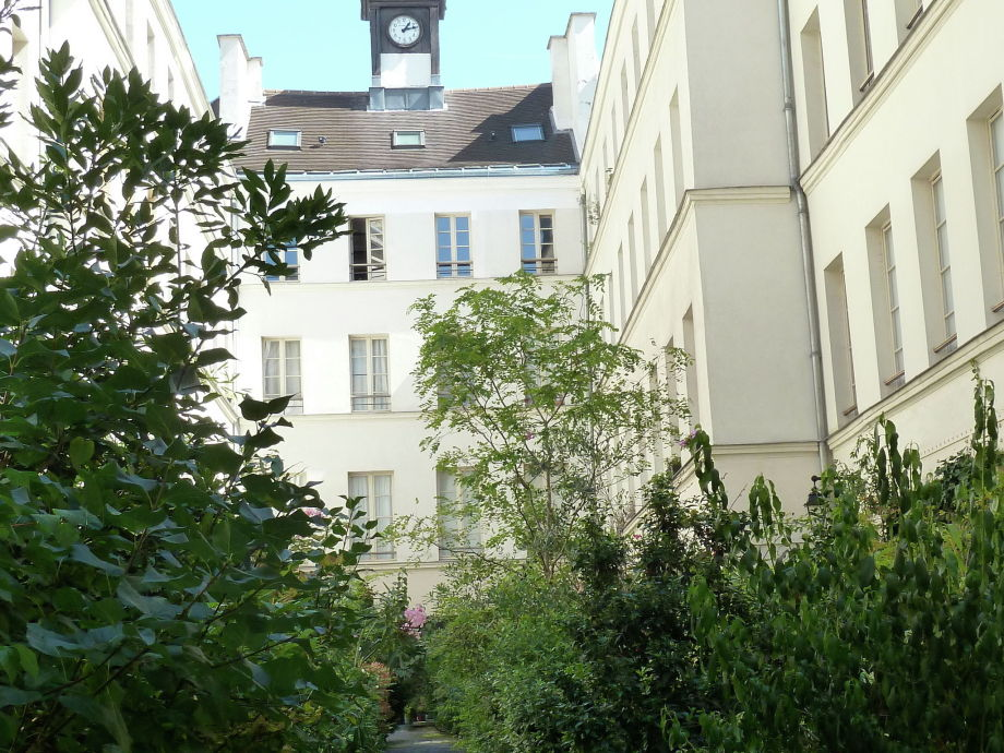 Außenaufnahme Paris bohème