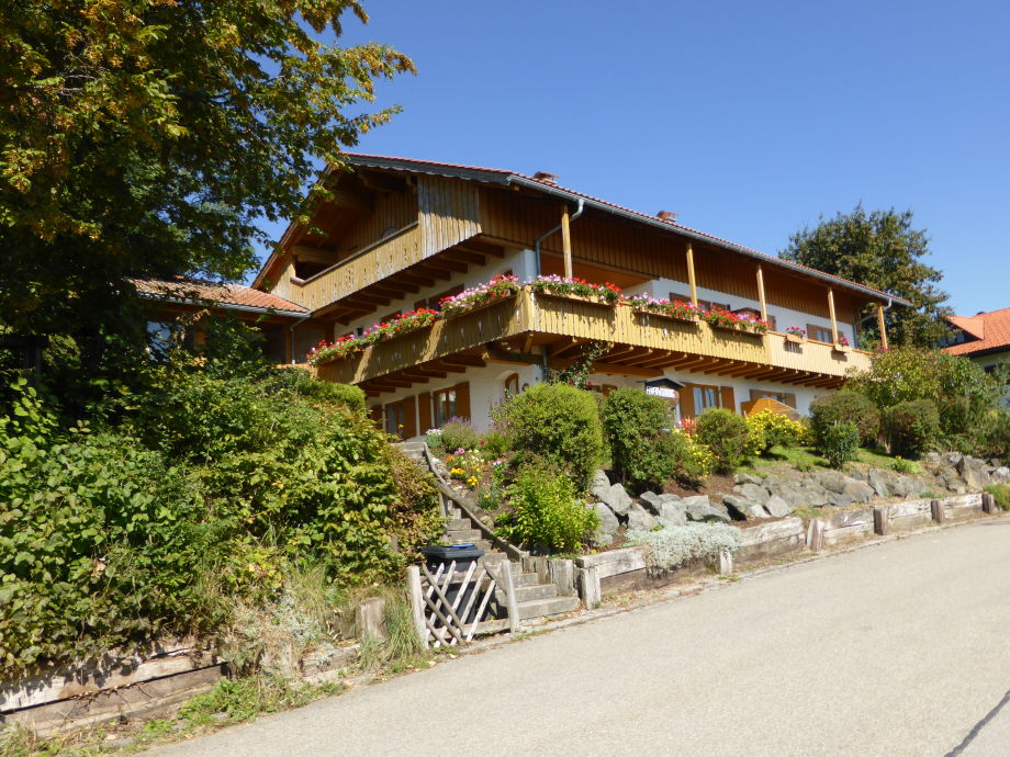 Außenansicht vom Haus Bergfreude