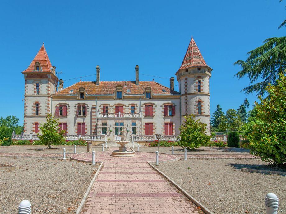 Außenaufnahme Chateau de Lastours - appartement Jasmin