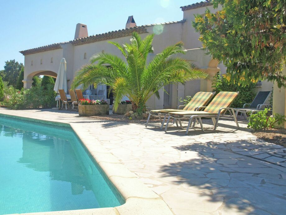 Außenaufnahme Villa Bleu Azur