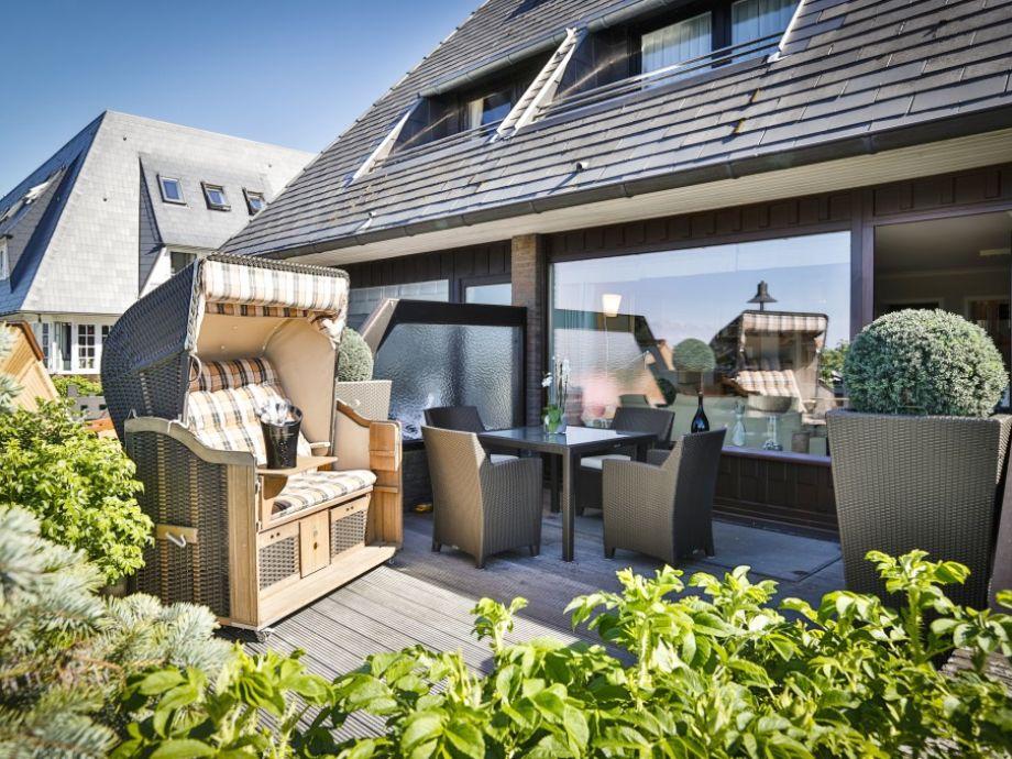 Geschützte Terrasse