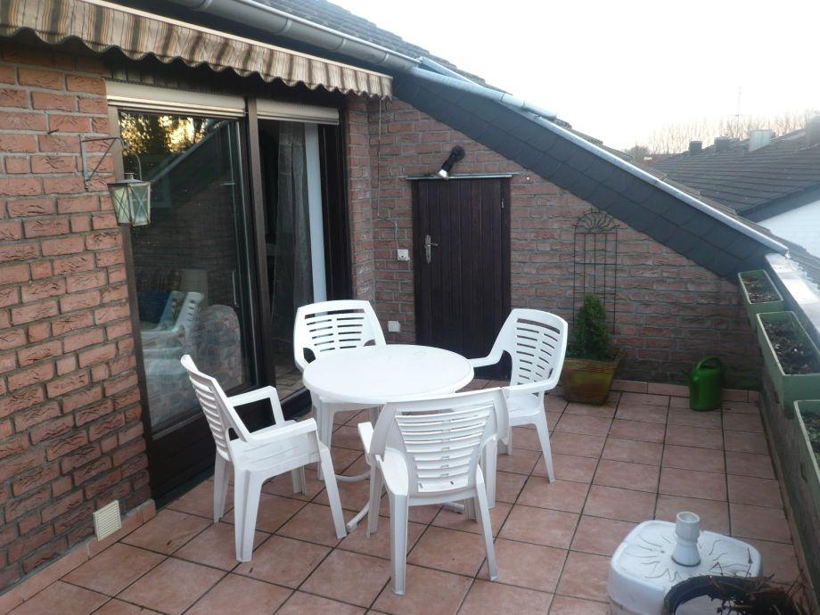 17 m² Dachterrasse mit Markise