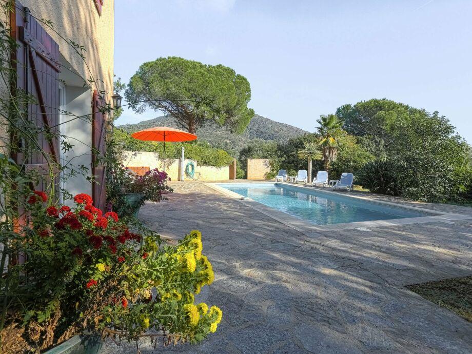 Außenaufnahme Villa l'Oranger villa 5 pieces piscine privée