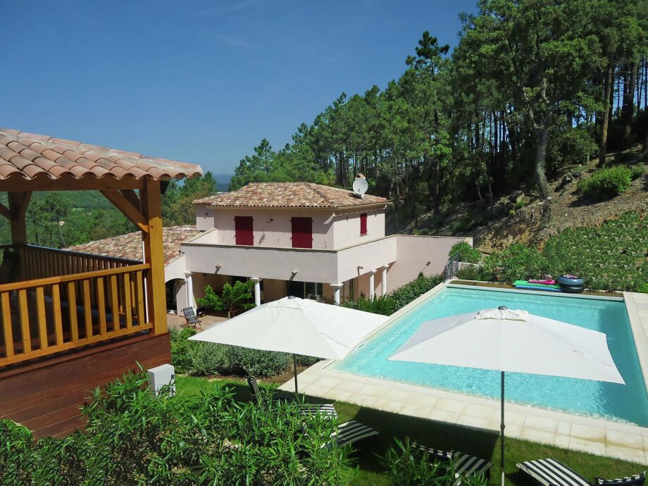 Außenaufnahme Villa Porthos