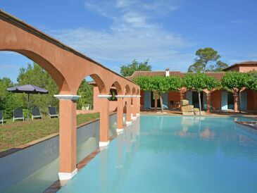 Ferienwohnung Luxury appartment with pool near Sainte Maxime 8 persons