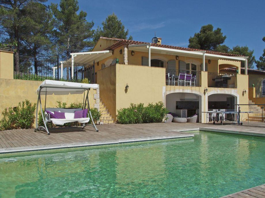 Außenaufnahme Villa Piscine Provence