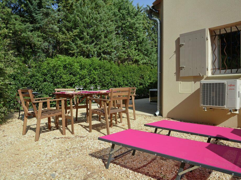 Außenaufnahme Villa Carpentras
