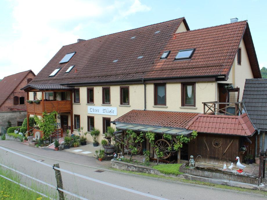Wohnhaus mit Mühle