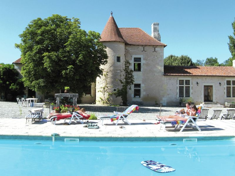 Ferienhaus Manoir avec piscine privée