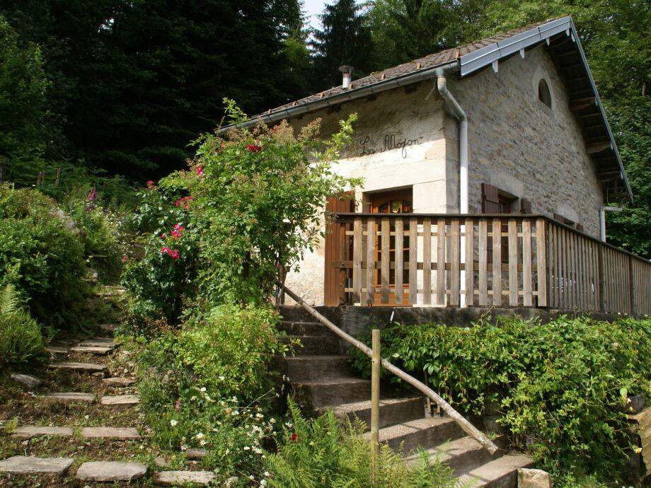 Außenaufnahme Maison de vacances - LE VAL D'AJOL