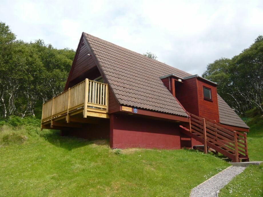 Außenaufnahme Lochinver Lodge