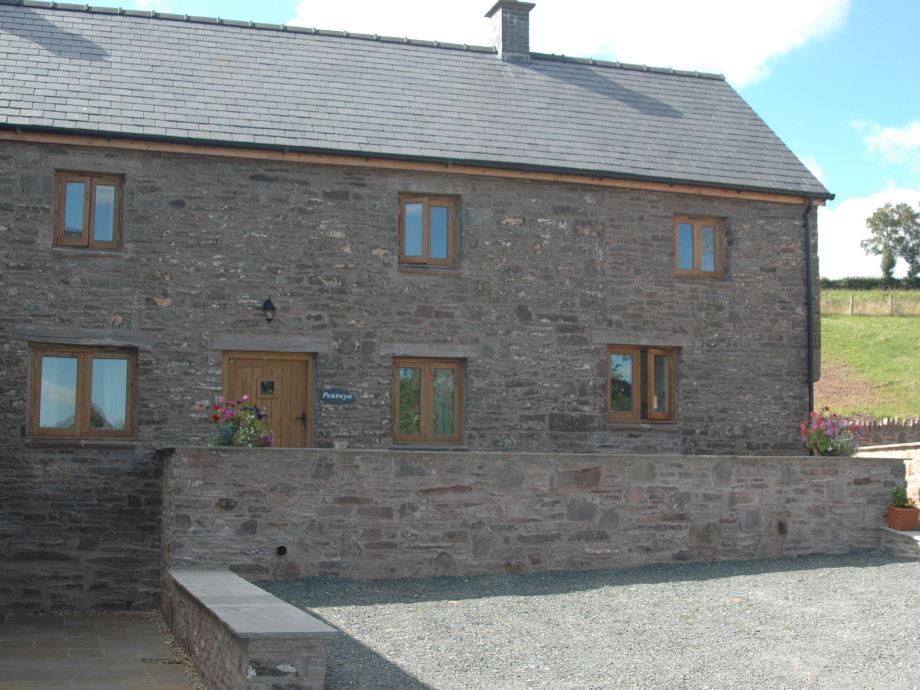 Außenaufnahme Pentwyn Farmhouse